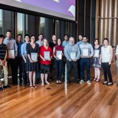 EAIT staff celebrated at Faculty awards