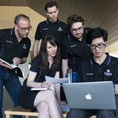 The UQ Cyber Squad placed third overall in the international Cyber 9/12 Strategy Challenge