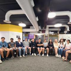 The SPACE Platform team comprises of 15 UQ alumni and current students