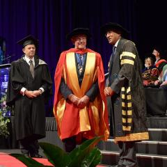 Trevor St Baker has been named an honorary Doctor of Engineering from The University of Queensland, recognising his lifelong contribution to the Australian electricity sector and greater Australian community through his business and philanthropic efforts.