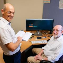 Associate Professor Mark Utting and Professor Ian Hayes